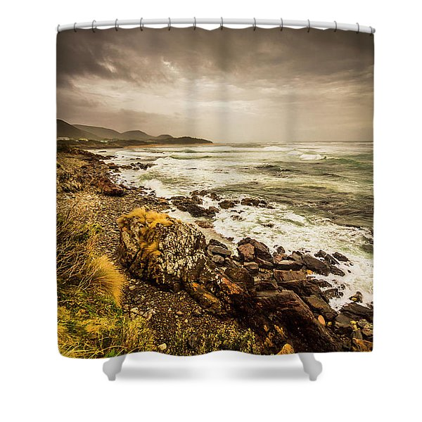 Storm Season Shower Curtain
