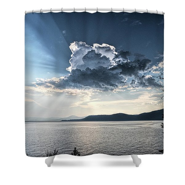 Stormlight Shower Curtain