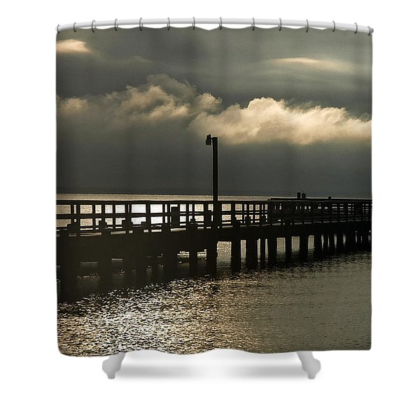 Storms Brewin' Shower Curtain