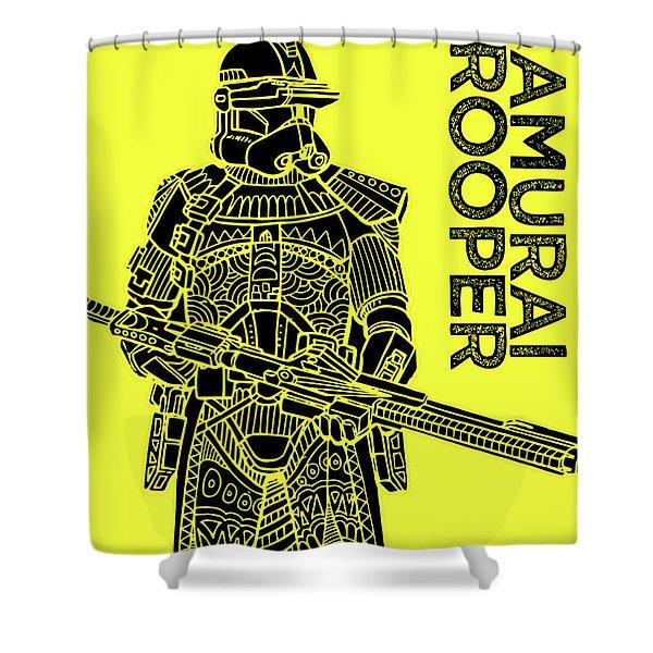 Stormtrooper - Yellow - Star Wars Art Shower Curtain