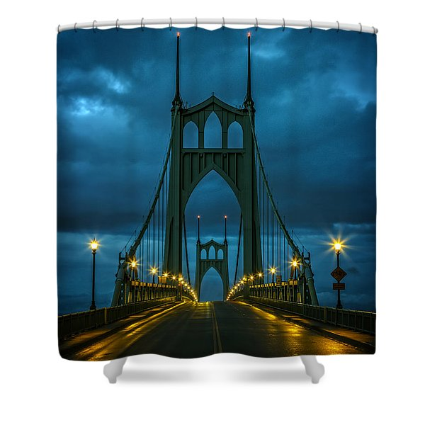 Stormy St. Johns Shower Curtain