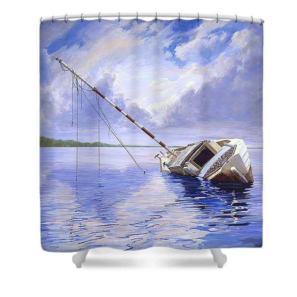 Stormy Summer Shower Curtain