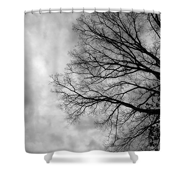 Stormy Weather Moving In Shower Curtain