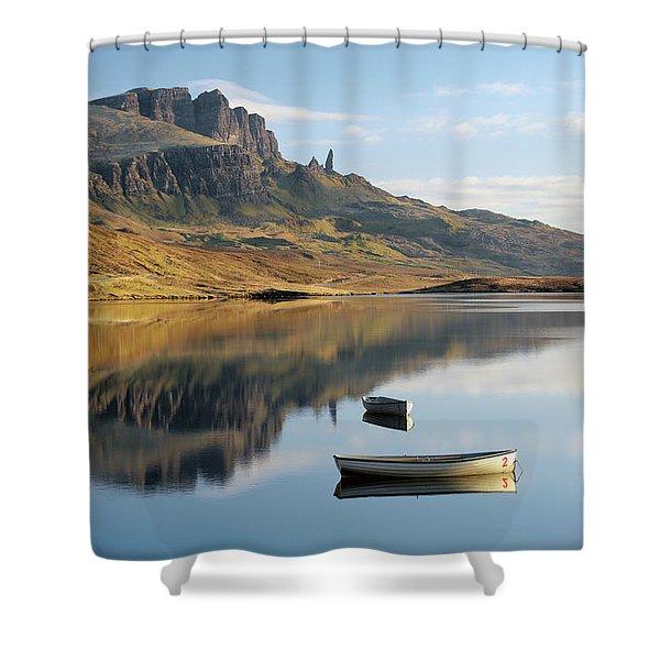 Storr Reflection Shower Curtain