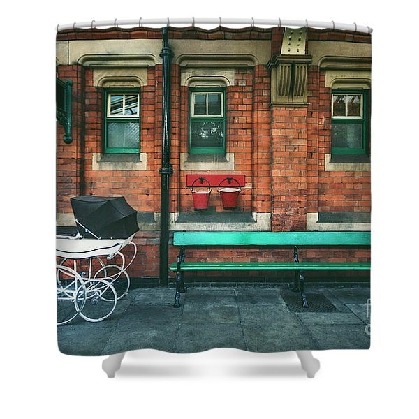 Story Of The Past Shower Curtain