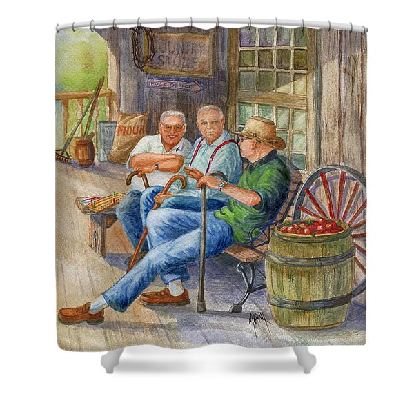 Storyteller Friends Shower Curtain