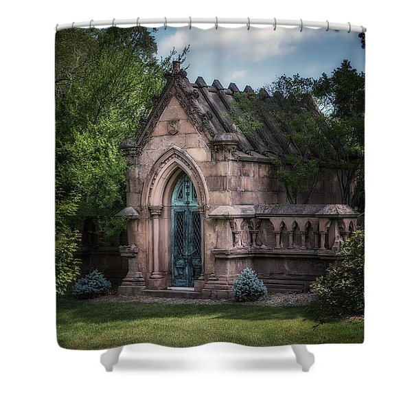 Strader Mausoleum Shower Curtain
