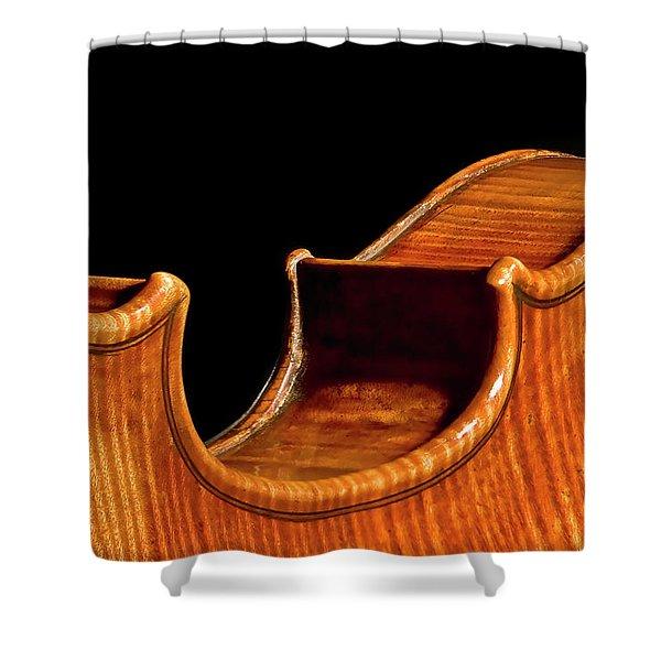 Stradivarius Back Corner Shower Curtain