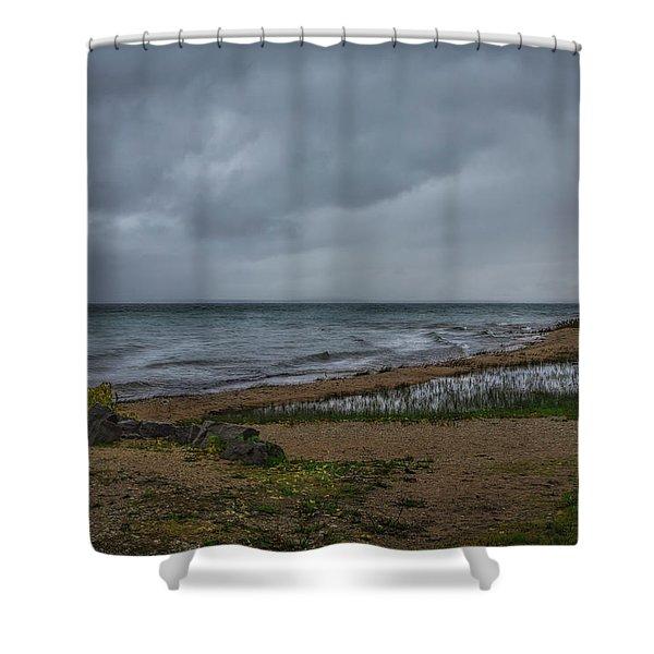 Straits Of Mackinac Shower Curtain