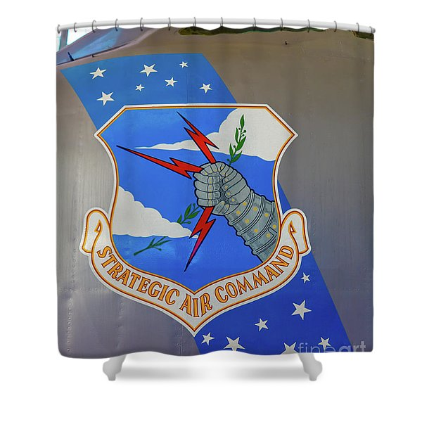 Strategic Air Command Shower Curtain