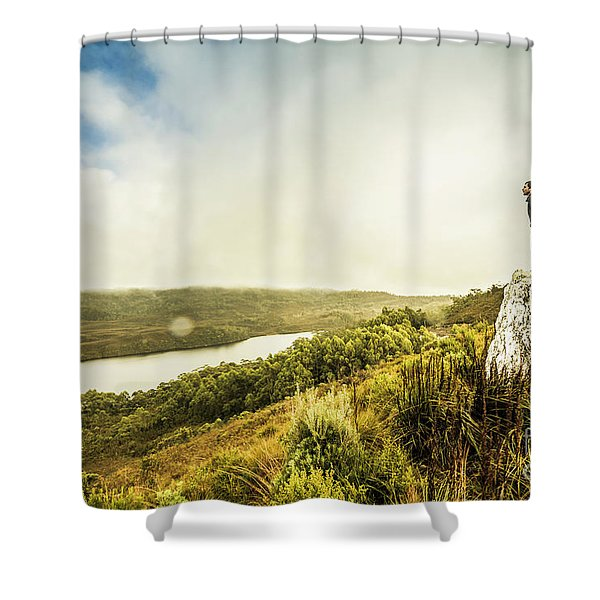 Strathgordon Tasmania Adventurer Shower Curtain