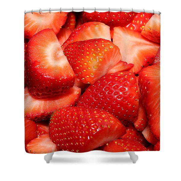 Strawberries 32 Shower Curtain