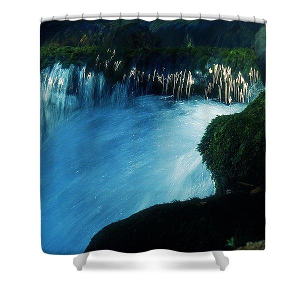 Stream 6 Shower Curtain