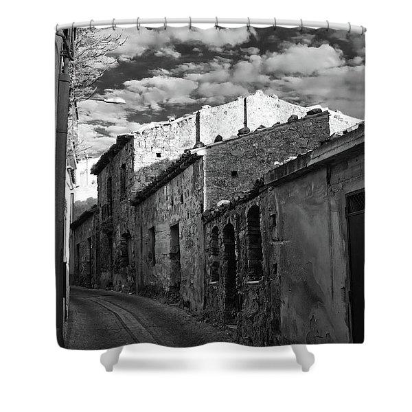 Street Little Town Shower Curtain