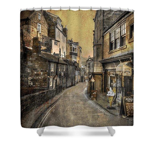 Street Of My Memory Shower Curtain