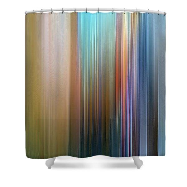 Stria Mediterranean Shower Curtain