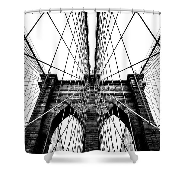 Strong Perspective Shower Curtain