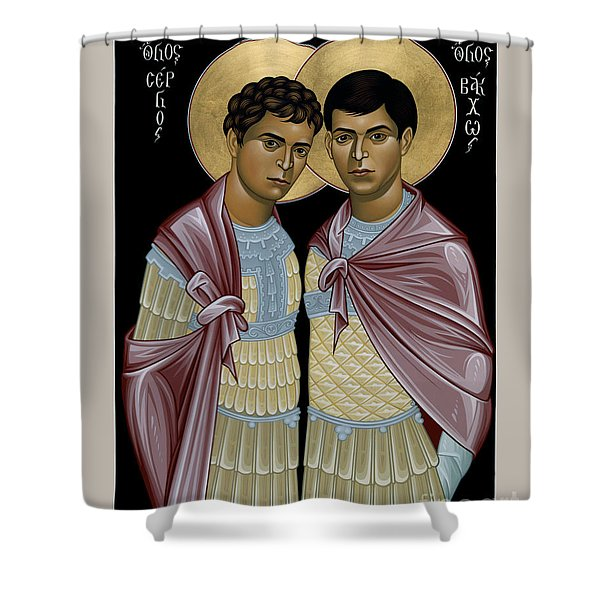 Sts. Sergius And Bacchus - Rlsab Shower Curtain