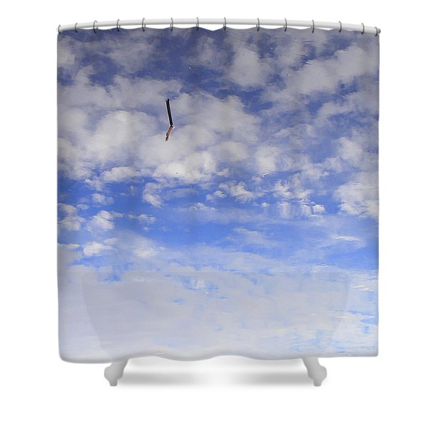 Stuck In The Clouds Shower Curtain