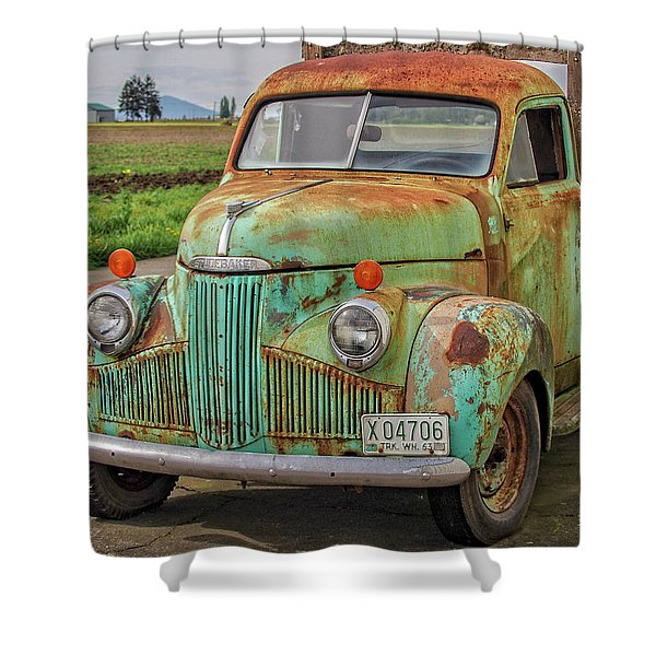 Studebaker '47 M-5 Coupe Express Shower Curtain