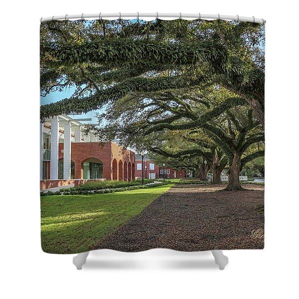 Student Union Oaks Shower Curtain