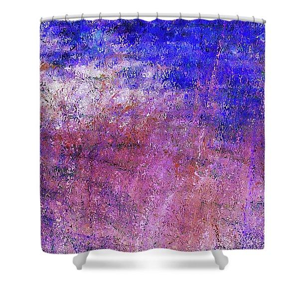 Study Of Brush Shower Curtain