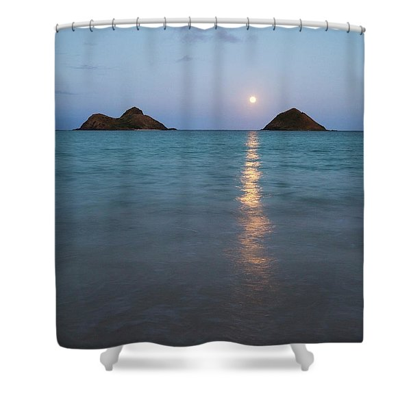 Stunning Hawaii Moonrise Shower Curtain
