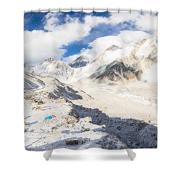Stunning Nepal - Ebc Shower Curtain