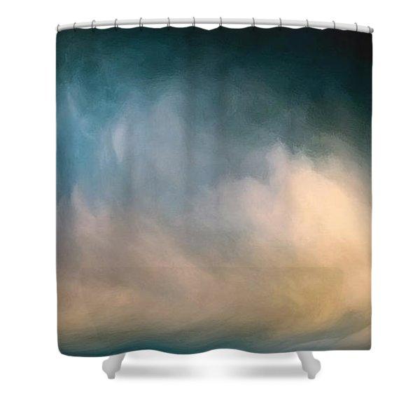 Sublime Seascape Shower Curtain