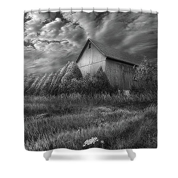 Sublimity Shower Curtain
