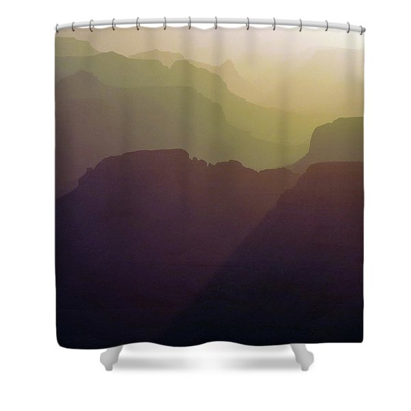Subtle Silhouettes Shower Curtain