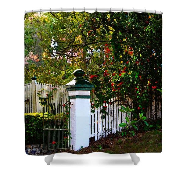 Subtropical Queensland Shower Curtain