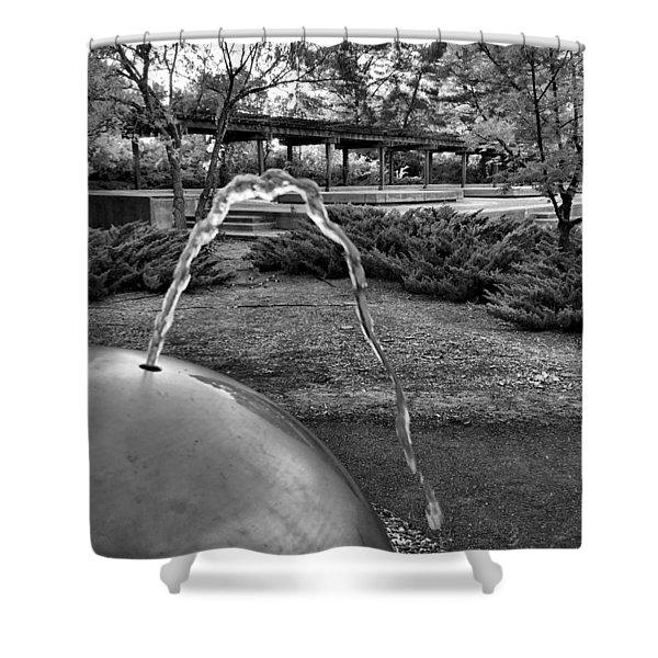 Suburban Thirst Quencher Shower Curtain
