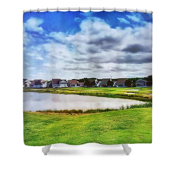 Suburbia Shower Curtain