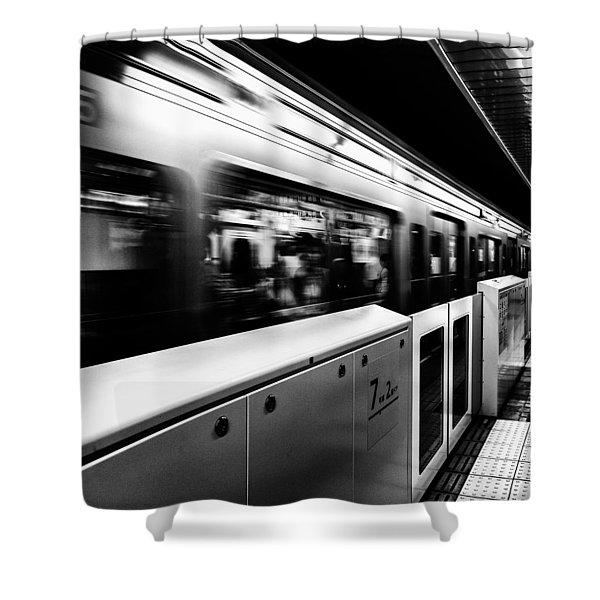 Subway Shower Curtain