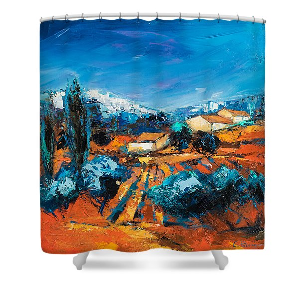 Sulla Collina Shower Curtain