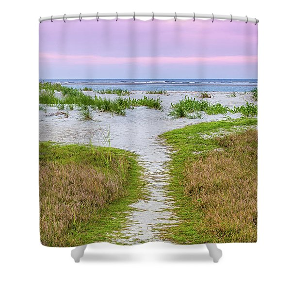 Sullivan's Island Natural Beauty Shower Curtain