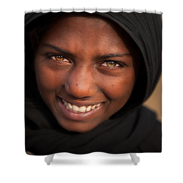 Suman Smile Shower Curtain