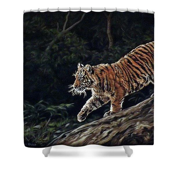 Sumatran Cub Shower Curtain