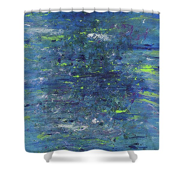 Summer Air Shower Curtain