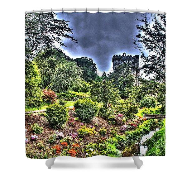 Summer Blarney Garden Shower Curtain