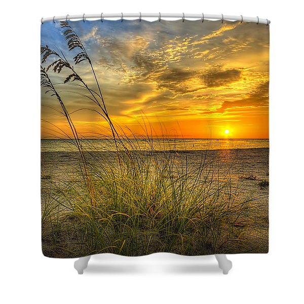 Summer Breezes Shower Curtain