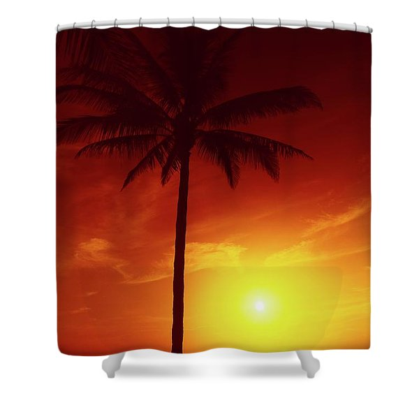 Summer By The Sea Shower Curtain