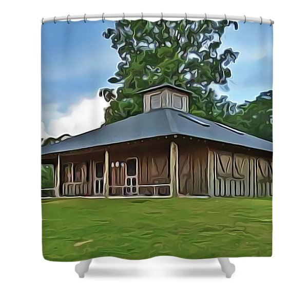 Summer Camp Shower Curtain