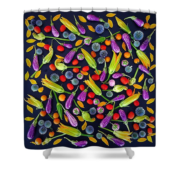 Summer Colors Shower Curtain