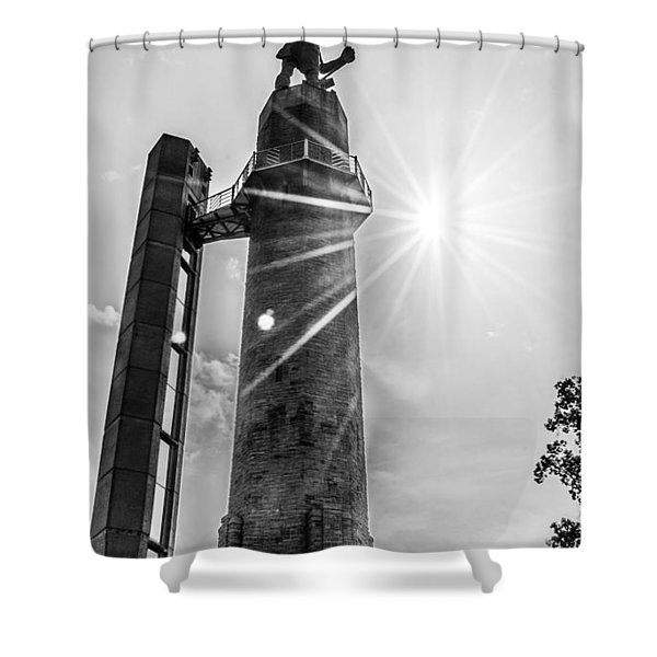 Summer Days At The Vulcan Shower Curtain