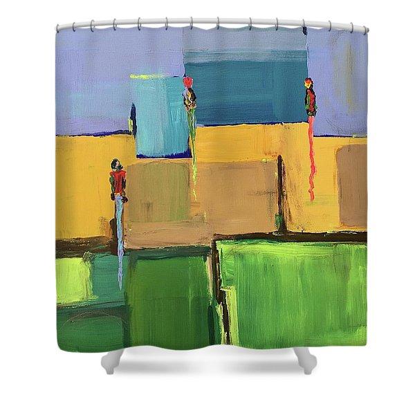 Long Summer Days Shower Curtain