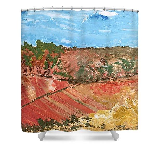Summer Fields Shower Curtain