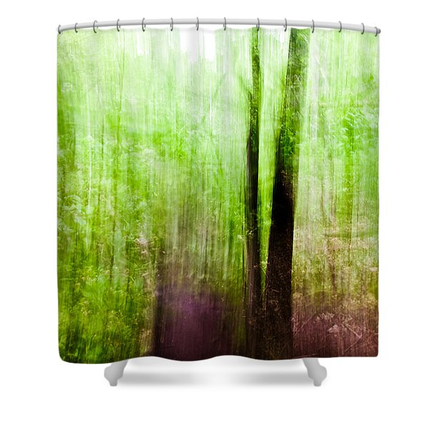 Summer Forest Shower Curtain