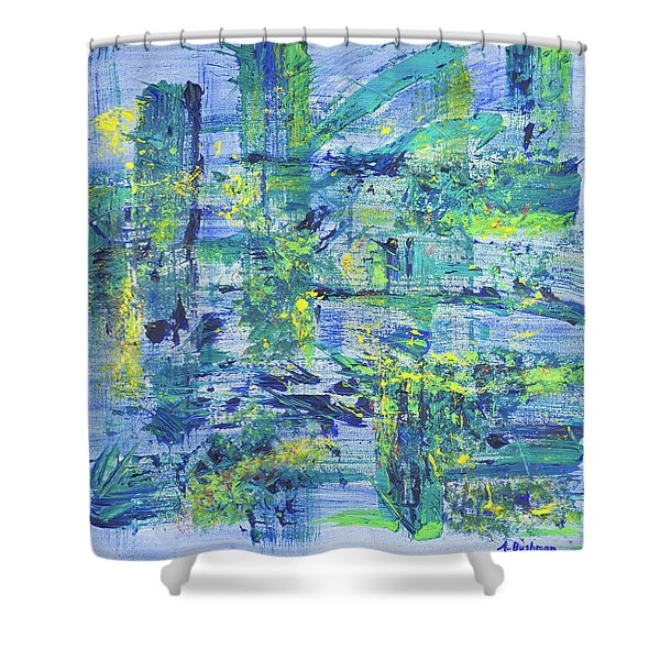 Web Of Life  Shower Curtain